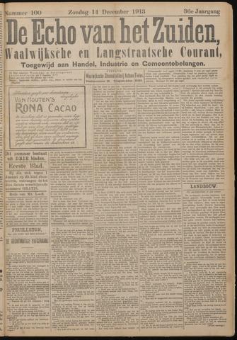 Echo van het Zuiden 1913-12-14