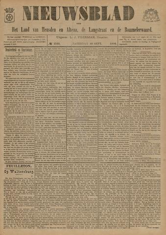 Nieuwsblad het land van Heusden en Altena de Langstraat en de Bommelerwaard 1896-09-19