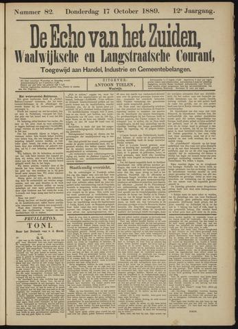Echo van het Zuiden 1889-10-17