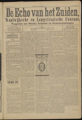 Echo van het Zuiden 1923-12-12