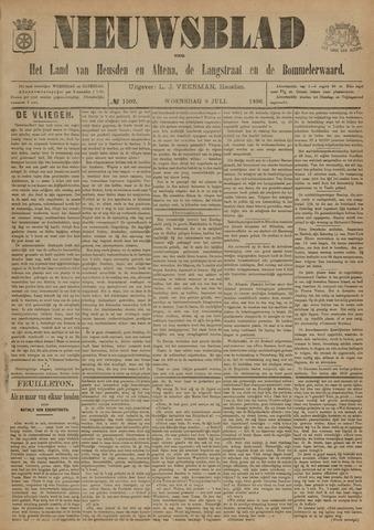 Nieuwsblad het land van Heusden en Altena de Langstraat en de Bommelerwaard 1896-07-08