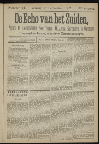 Echo van het Zuiden 1882-09-17