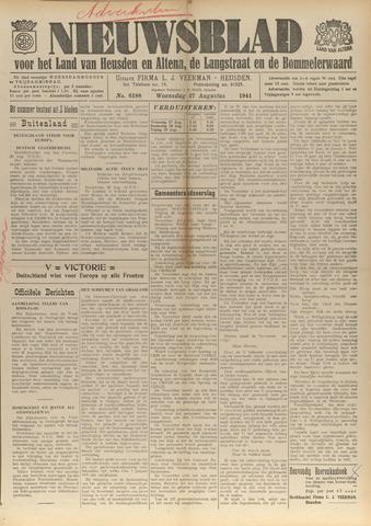 Nieuwsblad het land van Heusden en Altena de Langstraat en de Bommelerwaard 1941-08-27