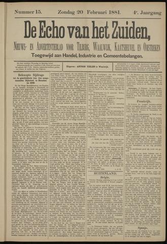 Echo van het Zuiden 1881-02-20
