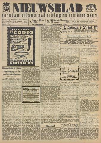 Nieuwsblad het land van Heusden en Altena de Langstraat en de Bommelerwaard 1930-01-31
