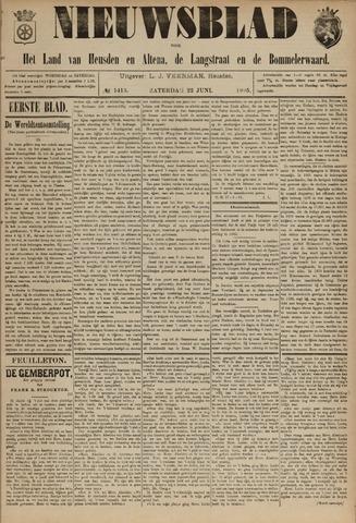Nieuwsblad het land van Heusden en Altena de Langstraat en de Bommelerwaard 1895-06-22
