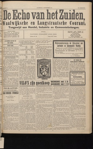 Echo van het Zuiden 1934-09-15