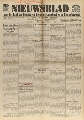 Nieuwsblad het land van Heusden en Altena de Langstraat en de Bommelerwaard 1941-06-25