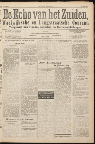 Echo van het Zuiden 1941-02-12