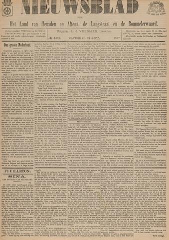 Nieuwsblad het land van Heusden en Altena de Langstraat en de Bommelerwaard 1897-09-25