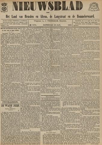 Nieuwsblad het land van Heusden en Altena de Langstraat en de Bommelerwaard 1902-01-18
