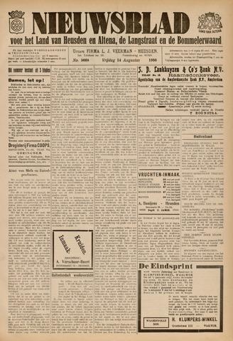 Nieuwsblad het land van Heusden en Altena de Langstraat en de Bommelerwaard 1936-08-14