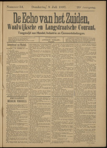 Echo van het Zuiden 1897-07-08