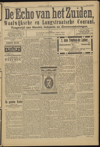 Echo van het Zuiden 1923-03-31