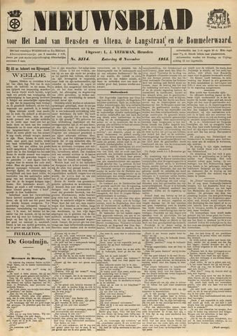 Nieuwsblad het land van Heusden en Altena de Langstraat en de Bommelerwaard 1915-11-06