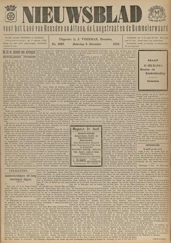 Nieuwsblad het land van Heusden en Altena de Langstraat en de Bommelerwaard 1919-12-06