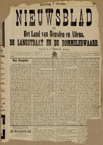 Nieuwsblad het land van Heusden en Altena de Langstraat en de Bommelerwaard 1882-10-07