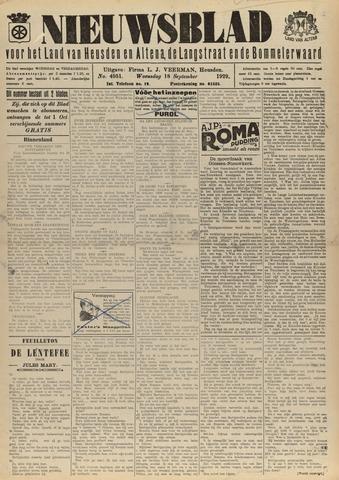 Nieuwsblad het land van Heusden en Altena de Langstraat en de Bommelerwaard 1929-09-18