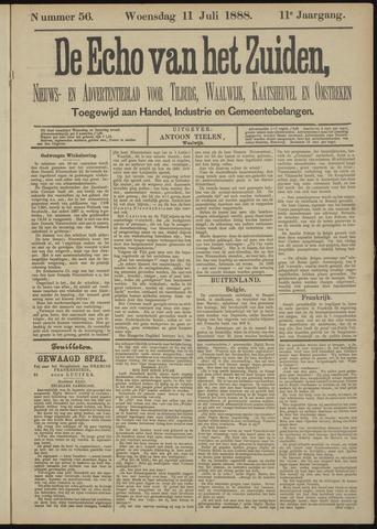 Echo van het Zuiden 1888-07-11