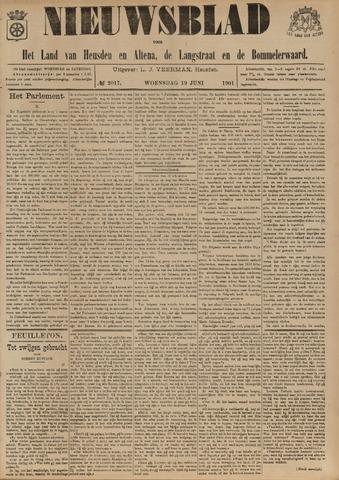 Nieuwsblad het land van Heusden en Altena de Langstraat en de Bommelerwaard 1901-06-19