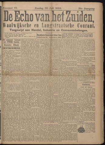 Echo van het Zuiden 1916-07-30