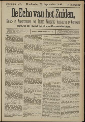 Echo van het Zuiden 1881-09-29