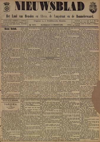Nieuwsblad het land van Heusden en Altena de Langstraat en de Bommelerwaard 1894-02-03