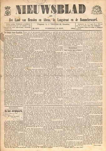 Nieuwsblad het land van Heusden en Altena de Langstraat en de Bommelerwaard 1904-11-16