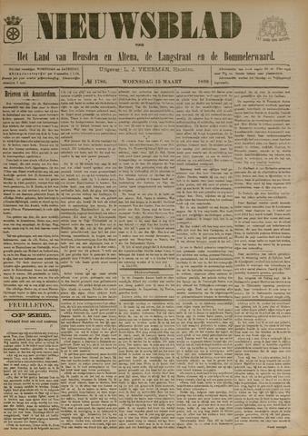 Nieuwsblad het land van Heusden en Altena de Langstraat en de Bommelerwaard 1899-03-15