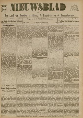 Nieuwsblad het land van Heusden en Altena de Langstraat en de Bommelerwaard 1899-05-31