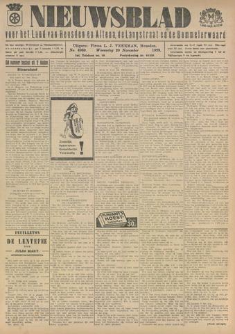 Nieuwsblad het land van Heusden en Altena de Langstraat en de Bommelerwaard 1929-11-20
