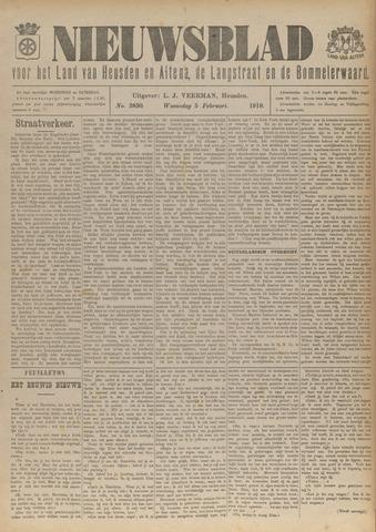 Nieuwsblad het land van Heusden en Altena de Langstraat en de Bommelerwaard 1919-02-05