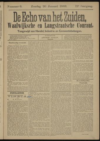 Echo van het Zuiden 1889-01-20