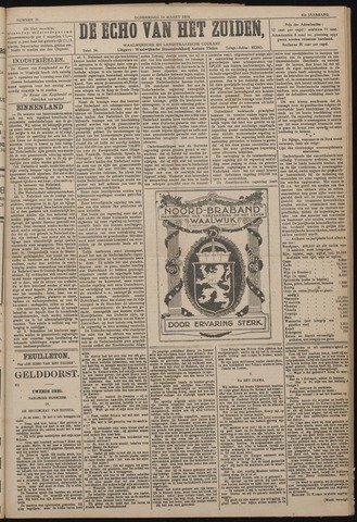 Echo van het Zuiden 1918-03-14