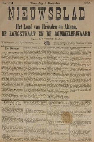 Nieuwsblad het land van Heusden en Altena de Langstraat en de Bommelerwaard 1885-12-02