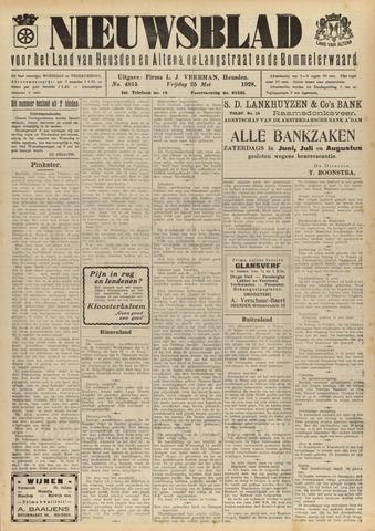 Nieuwsblad het land van Heusden en Altena de Langstraat en de Bommelerwaard 1928-05-25