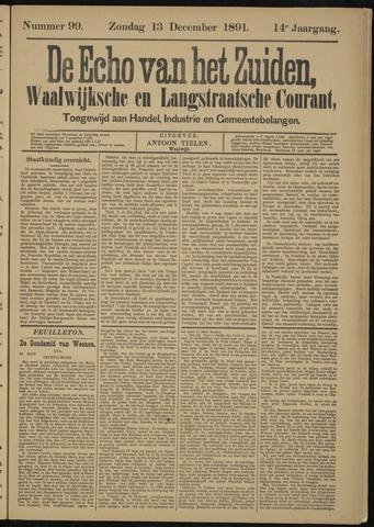 Echo van het Zuiden 1891-12-13