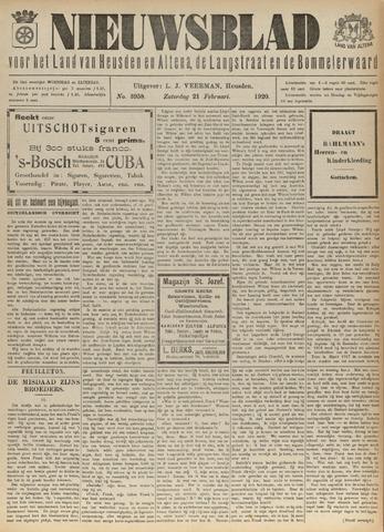 Nieuwsblad het land van Heusden en Altena de Langstraat en de Bommelerwaard 1920-02-21