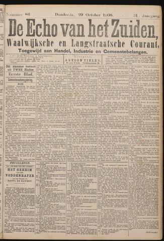 Echo van het Zuiden 1908-10-29
