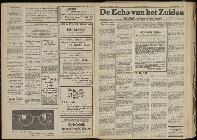 Echo van het Zuiden 1948-01-06