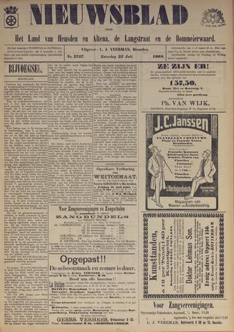 Nieuwsblad het land van Heusden en Altena de Langstraat en de Bommelerwaard 1908-07-25
