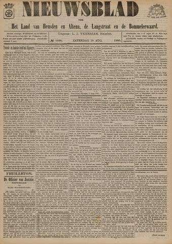 Nieuwsblad het land van Heusden en Altena de Langstraat en de Bommelerwaard 1900-08-18