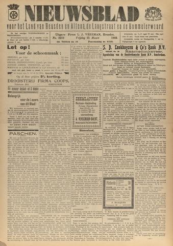 Nieuwsblad het land van Heusden en Altena de Langstraat en de Bommelerwaard 1932-03-25