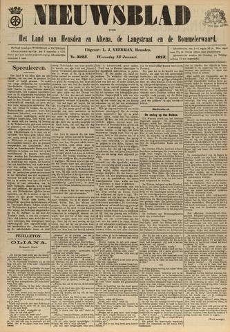 Nieuwsblad het land van Heusden en Altena de Langstraat en de Bommelerwaard 1913-01-15