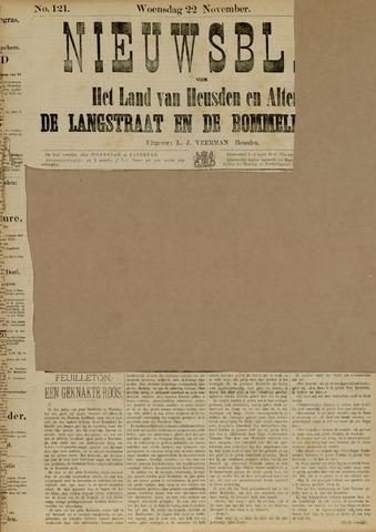 Nieuwsblad het land van Heusden en Altena de Langstraat en de Bommelerwaard 1882-11-22