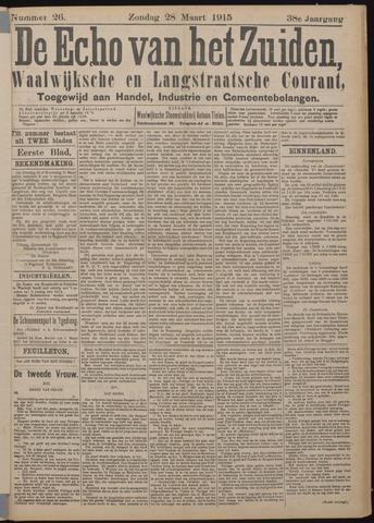 Echo van het Zuiden 1915-03-28