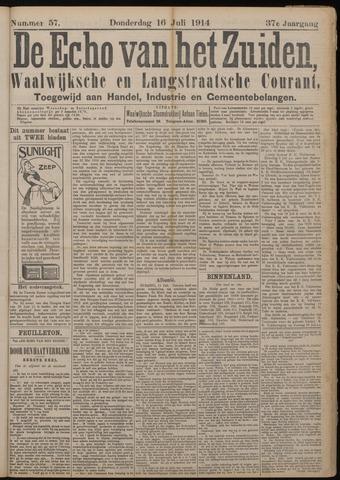 Echo van het Zuiden 1914-07-16