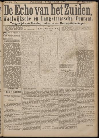 Echo van het Zuiden 1905-09-14