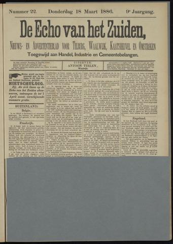 Echo van het Zuiden 1886-03-18