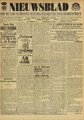 Nieuwsblad het land van Heusden en Altena de Langstraat en de Bommelerwaard 1927-01-28
